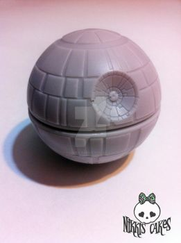 Chocolate Death Star by Corpse-Queen