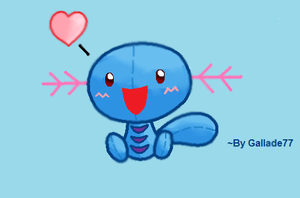 Will the Wooper Plushie by Gallade77