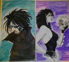 Dream and death diptick by 5bethr5