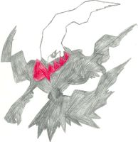 Darkrai Sketch by CoolMan666