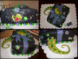 MONSTER CAKE by Cherieosaurus