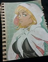 spider gwen by Pradaninja