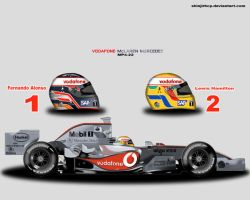 McLaren MP4-22 by ShinjiRHCP