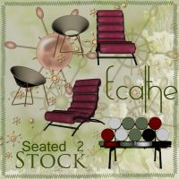 seated stock pack 03 by Ecathe