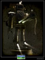 Steampunk Soldier Textured by FarawayPictures