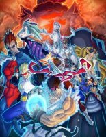Capcom Fighting Tribute Ver.A by nfteixeira
