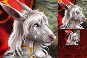 Conyard Icon Commission by DarkIceWolf
