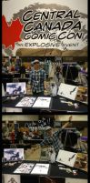 C4 Winnipeg Comic Con by ChasingArtwork