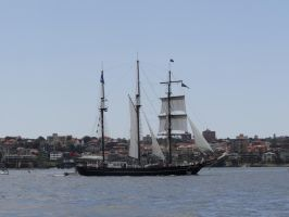 Tall Ship - Spirit of New Zealand by veryevilmastermind