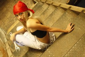 Winry Rockbell by luckysevenstars