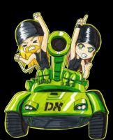 DX tank by PrincessBlackRabbit