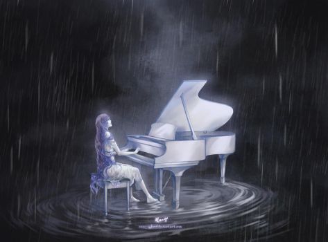 Melody in the Rain by hart-coco