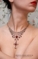 Necklace 'Camelot' by Madormidera