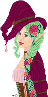 The Rose Witch by Ashuri