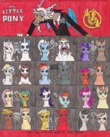 My Little Hunger Games by 13foxywolf666