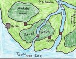 Southern Ahrea, Southwest Coast, Color by ElPerdedor