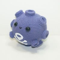 Cute Koffing Plushie by 44NightFurys
