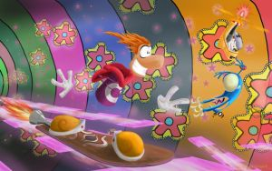 Rayman 3 Fan Art by Gold-Dragon8