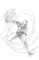 Scarlet Spider pencils by DRPR