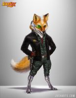 FOX MCCLOUD RE-DESIGN by Dogsfather