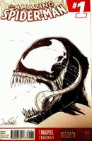 Venom sketch cover by LivioRamondelli
