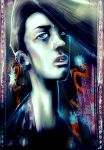 The girl with the dragon tattoo by SACARA9