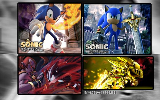 Sonic Storybook Wallpaper by Crash36