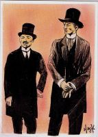 Sherlock Holmes: Messrs Watson and Holmes by RobertHack