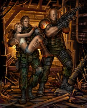 Army of Three by Candra