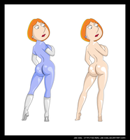 Lois Griffin - Bodysuit by The-Real-Joe-Cool