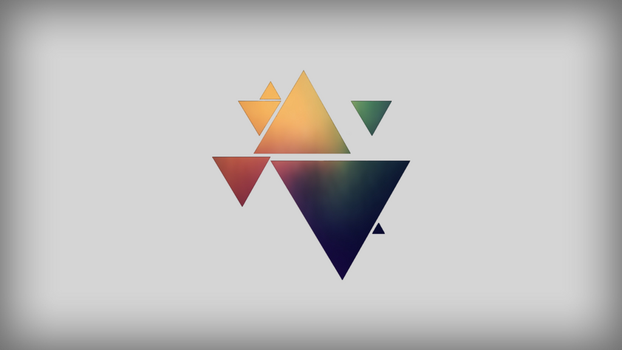 Triangle Background 3 by vekst