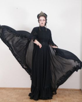 Stock - Dark sorcesess flying cape 5 by S-T-A-R-gazer