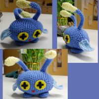 Chinchou amigurumi (for sale) by DarkTeaCrochet