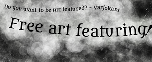 Free art feature add -click for more info! by Varjokani