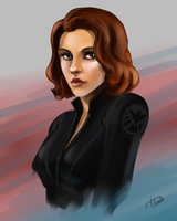 Black Widow by Ferroconcrete247