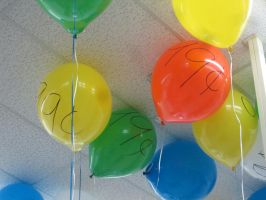 Balloons from the 99 cent summer sale by mylesterlucky7