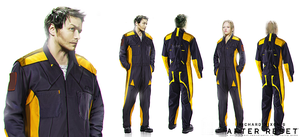 After Reset concepts Engineering Jumpsuit by blackcloudstudios