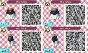 ~Animal Crossing~ QR Codes - Hino Kahoko by sakurablossom143