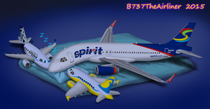 Sleeping with Stuffed Planes by A320TheAirliner