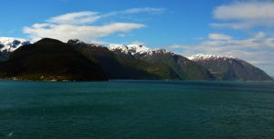 Sailing the fjords to Skjolden 16 by abelamario