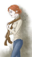 Archie`s Scarf by GabiHorseArt98