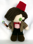 eleventh doctor miniplush by MasterPlanner
