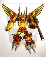 Predaking Colors by autobotcity