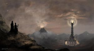 Mordor by nraza
