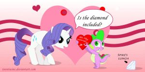 Be My Pony Valentine by ToonTwins