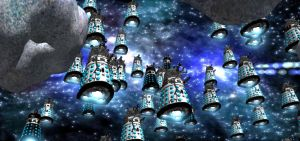 Hordes of Daleks by android65mar