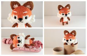 Amigurumi Plush Fox by pocket-sushi