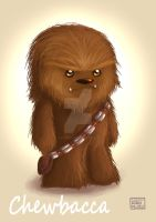 Star Wars Saga - The Force Awakens: Chewbacca by FairyWorld84