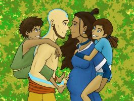 Kataang Family Colour by shango266