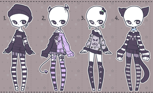 Set price Outfit Adopts: MONO CLOSED by Lunadopt